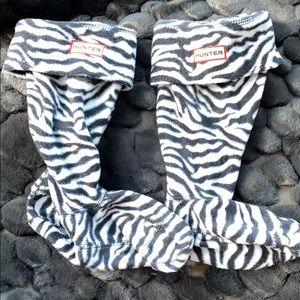 Hunter boot socks girls